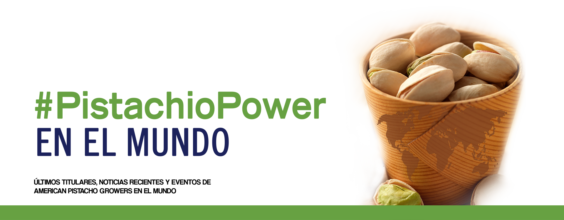 #PistachioPower Around The World