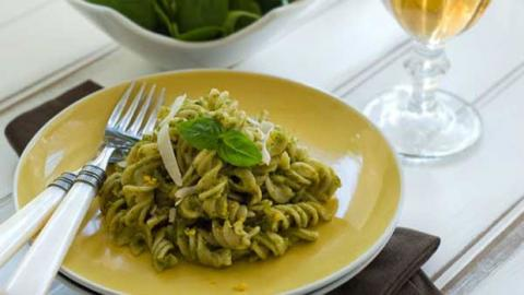 PISTACHIO PESTO WITH GLUTEN FREE PASTA